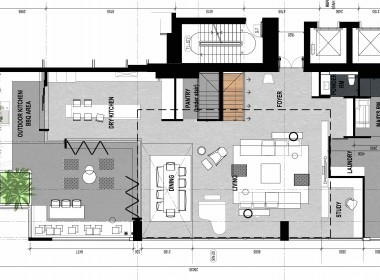 Penthouse Thao Dien Pearl layout 1