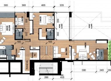 Penthouse Thao Dien Pearl layout 2