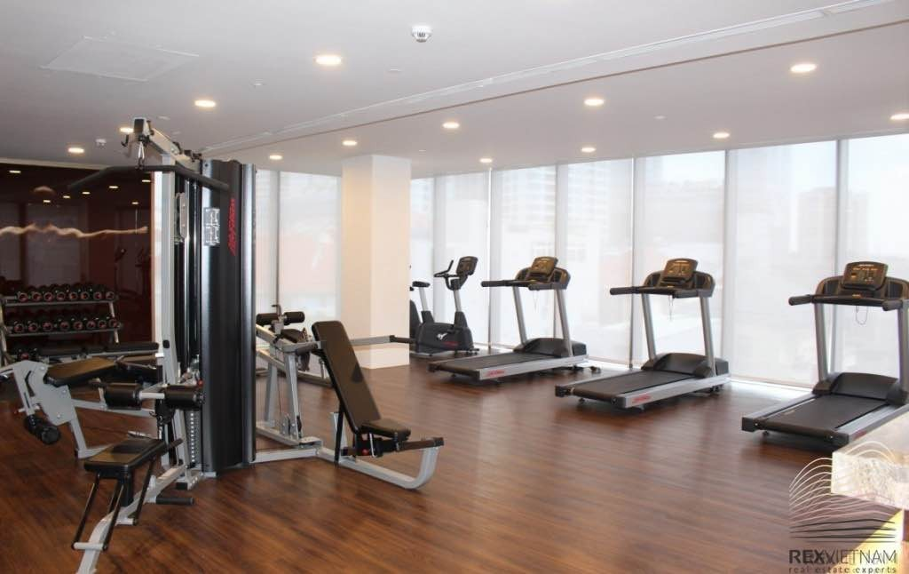 Common areas at The Nassim - Gym